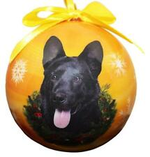 "by E /& S Pets BLACK Cat--Shatterproof Ball Ornament--3/""-"