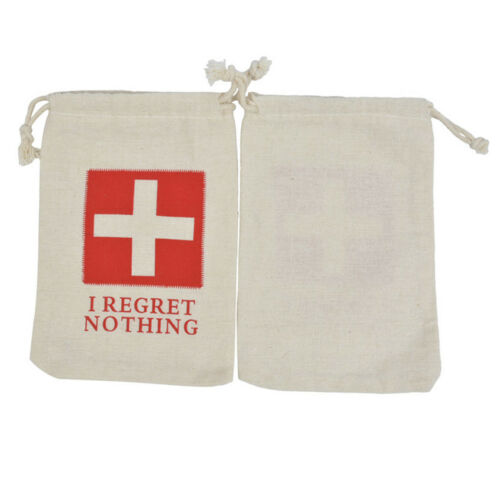 1PC Convenient Hangover Cotton Bag for Hens Party Wedding Favors First Aid Bags