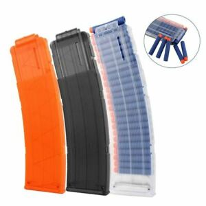 6-22-Reload-Clip-For-Nerf-Magazine-Round-Darts-Replacement-Toy-Gun-Soft-Bullet-C