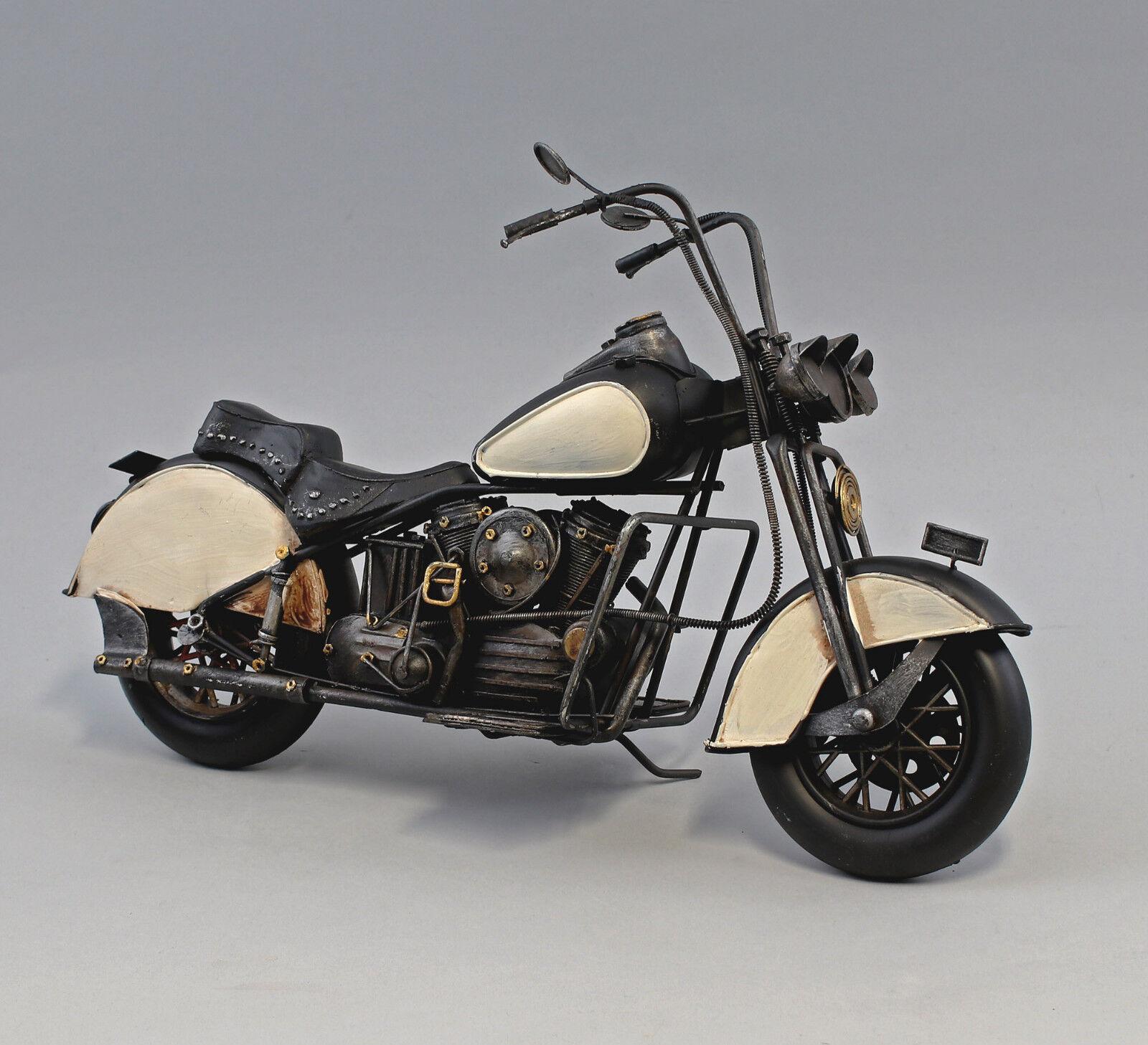973028 Nostalgik Förlaga Bil Klassisk Bil Motorcycle 42x15x23cm