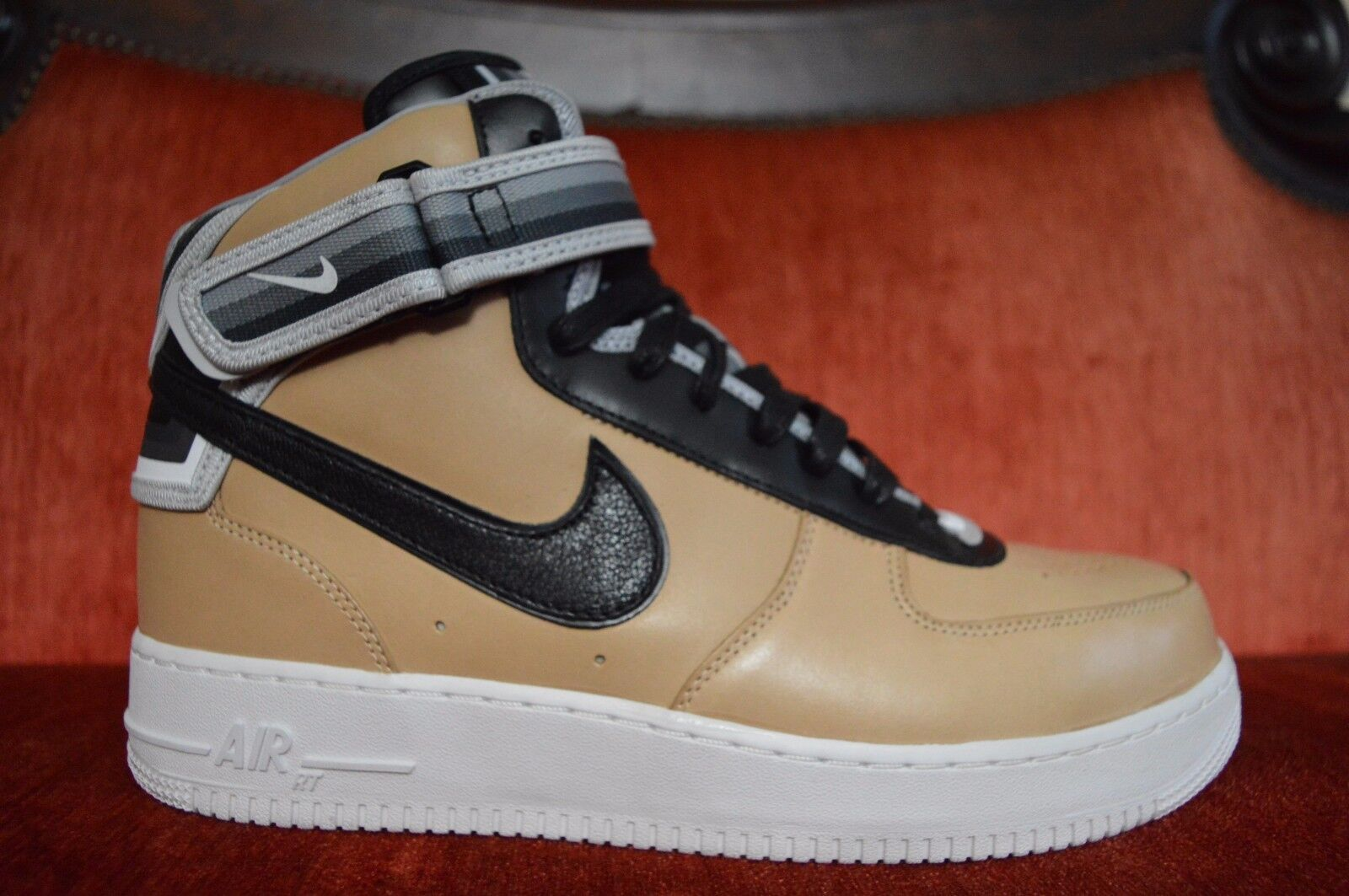 Nike Air Force 1 RT Riccardo Tisci Givenchy AF1 Mid Tan 677130 200 Size 11.5
