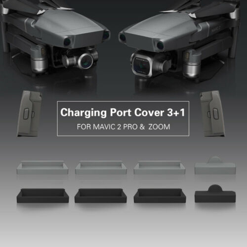 Frame Battery Charging Port Dust Plug Protector Cover For DJI Mavic 2 Pro// Zoom