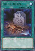 Foolish Burial - DPBC-EN025 - Rare 1st Edition