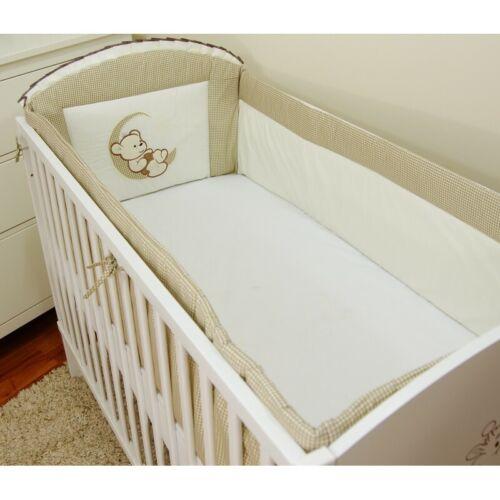 Kopfschutz Netschen 360cm//420cm Bettumrandung für Babybett  60x120 70x140cm