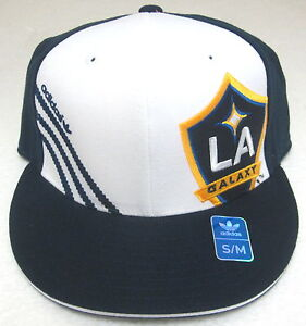 90a69e1319e79 MLS Los Angeles Galaxy Multi-Color Structured Flat Bill Fitted Hat ...