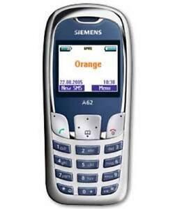 Rare Siemens A62 Cheap Retro Mobile Phone On Orange Uk Network With A Warranty Ebay
