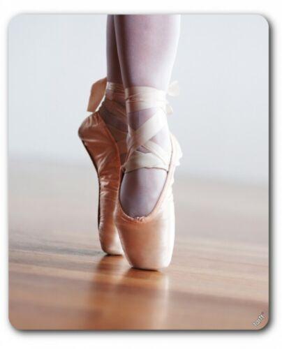 #89311 Spitzenschuhe Tanz Relevé Mauspad Mousepad Ballett 23x19cm