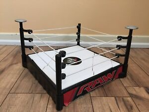 48a27572c408 Rare Wwe Super Strikers Slam N Launch Arena With Raw Wrestling Ring ...