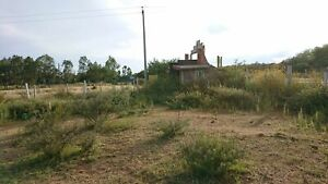 Terreno ideal para negocio o casa de campo en El Conejal Sobre carretera