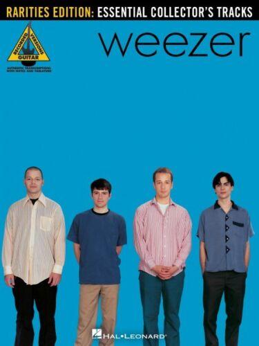 Weezer Rarities Edition Sheet Music Essential Collector/'s Tracks Guita 000691046