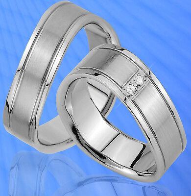 Streng 2 Ringe Partnerringe Trauringe Mit 2 Steine Gravur Gratis , Je169-2 Ein GefüHl Der Leichtigkeit Und Energie Erzeugen