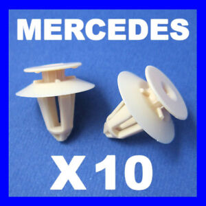 10X TRIM AND DOOR PANEL CLIPS OE A0009918698 for MERCEDES A B C E class