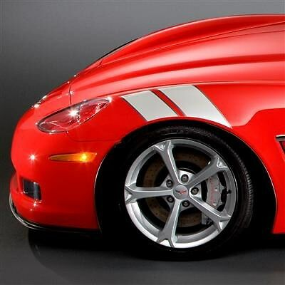 "Corvette Grand Sport Fender /""Hash/"" Stripes GM Original Equipment"
