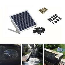 10W High Power LED Solar Light with Garden Landscape Fountain Water Pump US!