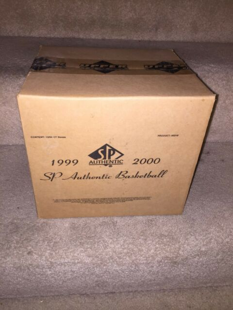 1999-00 Upper Deck SP Authentic Basketball SEALED CASE