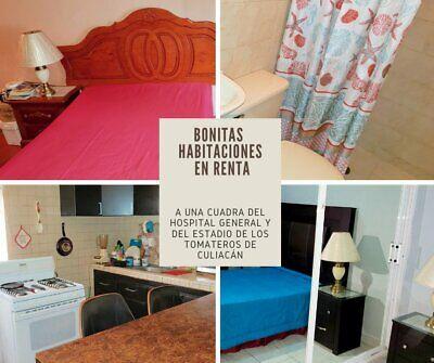 Rento habitacion amueblada cerca del IMSS HGR1 Culiacan TODO EQUIPADO