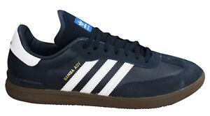 Hombre Marino Adidas Samba By3930 Avanzado Azul Zapatillas Originals D114 Ante wFqICvO