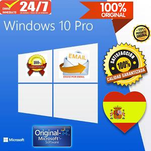 Windows-10-Pro-ESPANOL-licencia-clave-100-ORIGINAL-32-64bit-envio-en-3-segundos
