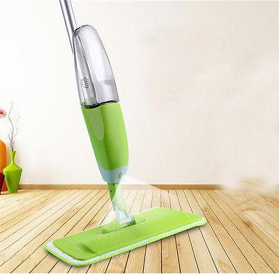 NEW! Spray Microfiber Flat Mop Cleaner Home Floor Bath Kitchen Sweeper Broom