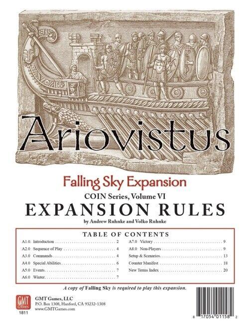 Ariovistus Wargame - Falling Sky Expansion and Update Kit