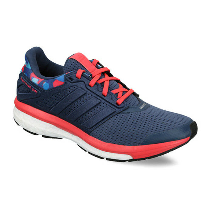 Adidas Supernova Glide 8 GFX w Shoes Running Sneakers Snova Blue Women's New
