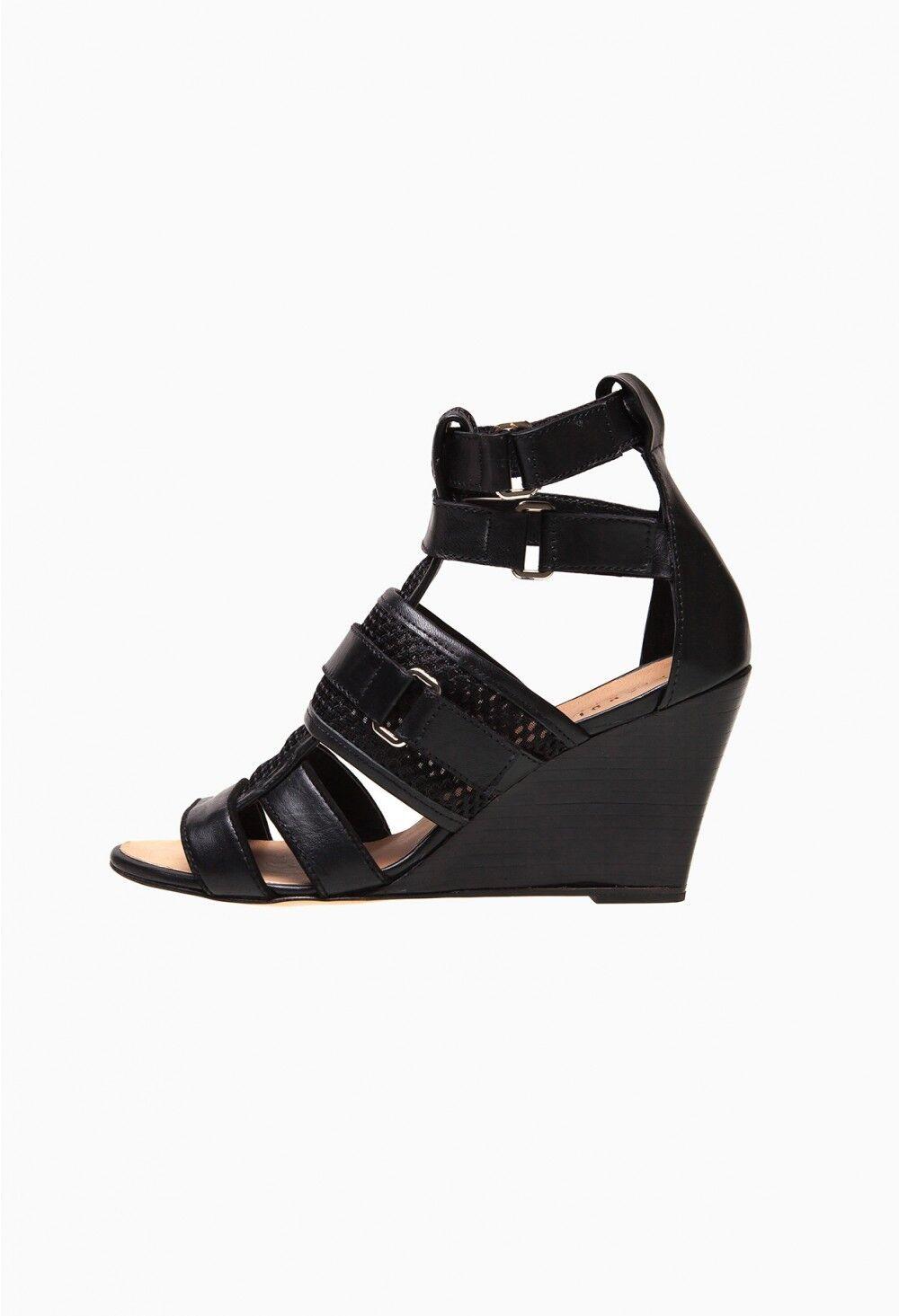 Sandales CLAUDIE PIERLOT PIERLOT PIERLOT cuir et résille negro  -  T. 38  comprar mejor