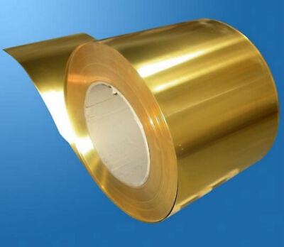 1pcs Copper Beryllium Alloy BeCu C17200 Foil Sheet Plate 0.2mm x 200mm x 500mm