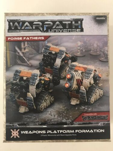 Deadzone, 2nd Edition Forge Father Weapons Platform Formation