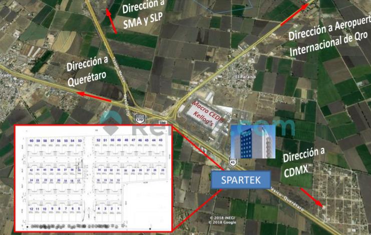 Nave Industrial en Parque Spartek