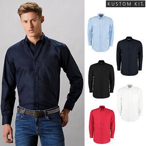 Da Uomo Kustom Kit Camicia a maniche lunghe Corporate Workforce Premium Business