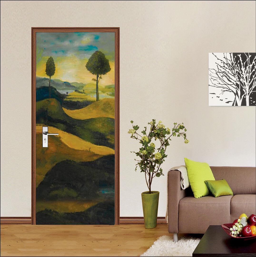 3D Grasland Malen 7 Tür Wandmalerei Wandaufkleber Aufkleber AJ WALLPAPER DE Kyra  | Erste Kunden Eine Vollständige Palette Von Spezifikationen  | Komfort  | Öffnen Sie das Interesse und die Innovation Ihres Kindes, aber auch die Unschuld von Kindern, ki
