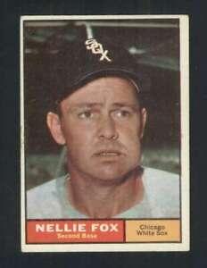 1961-Topps-30-Nellie-Fox-EXMT-EXMT-White-Sox-123262