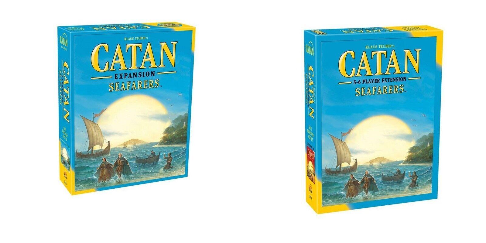 Catan Studio  Catan Seafarers board game + 5-6 Player Extension Bundle (New)