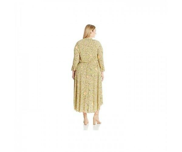 Melissa McCarthy McCarthy McCarthy Seven7 Floral Maxi Dress with Ruffles – Size 20 22 2d5223