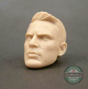 ML168-Custom-Cast-sculpt-male-head-use-with-6-034-Marvel-Legends-Star-Wars-Figures