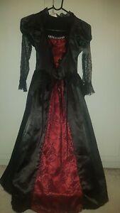Girl-Wicked-Costumes-Halloween-Fancy-Dress-Size-5-7-Years
