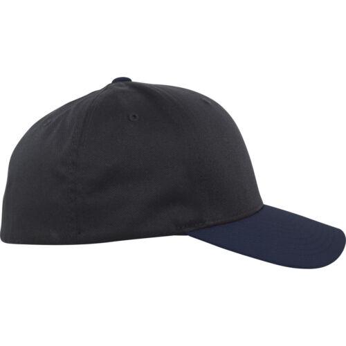 Flexfit Contrast Baseball Cap 2-tone Basecap wooly Combed Era trucker Casquette Caps
