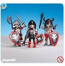 PLAYMOBIL 7975 - 3 Red Dragon Knights. New