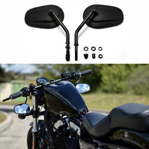 Rear-Side-Mirrors-For-Harley-Road-King-Touring-XL-883-SPORTSTER-Road-King-Fatboy