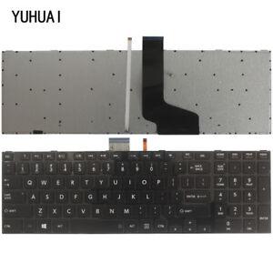 New-laptop-US-keyboard-Toshiba-Qosmio-X870-X875-Series-with-Backlit-gray-frame
