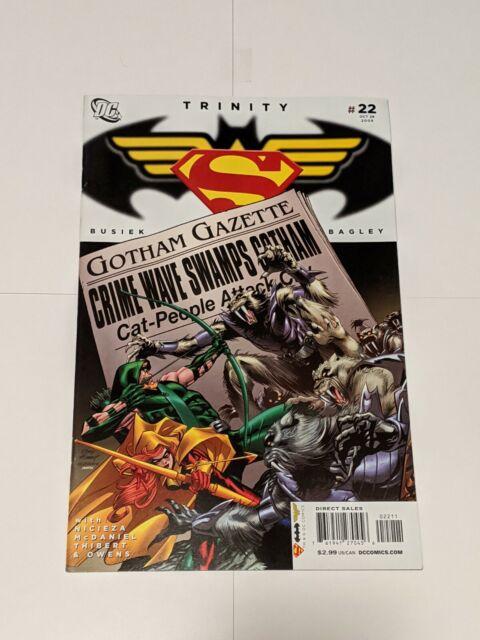 Trinity #22 October 2008 DC Comics Superman Batman Wonder Woman Busiek