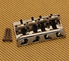 CHROME NEW Genuine Fender Big Block American Standard Precision Bass Bridge