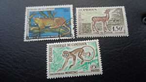 Kamerun, Federale Du Cameroun, Stamps, 1979, Tiere, Wildtiere
