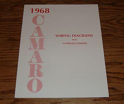 1968 chevrolet camaro wiring diagram manual for complete. Black Bedroom Furniture Sets. Home Design Ideas