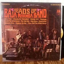 Baja Marimba Band Heads Up! LP A&M original stereo M-