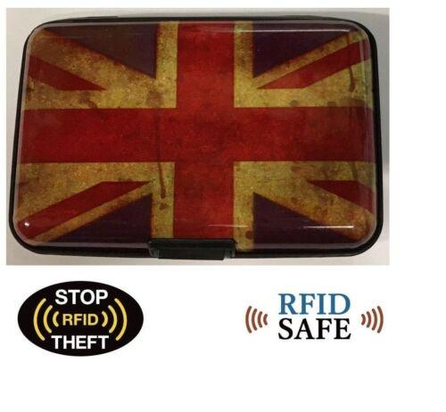 Blocking Hard Case Wallet Credit Card Anti-RFID Scanning Protect Holder FOUK