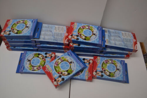 Job Lot - 36 x Mickey Mouse Clubhouse 56cm Swim Ring  with Safe