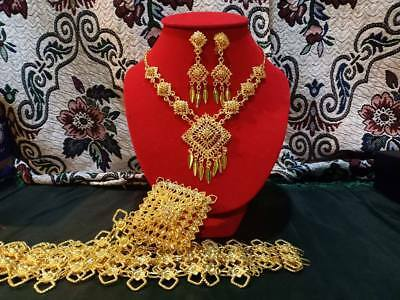 Costumes Ramthai Jewelry Set Thai Laos Traditional Wedding Dress Dance Women