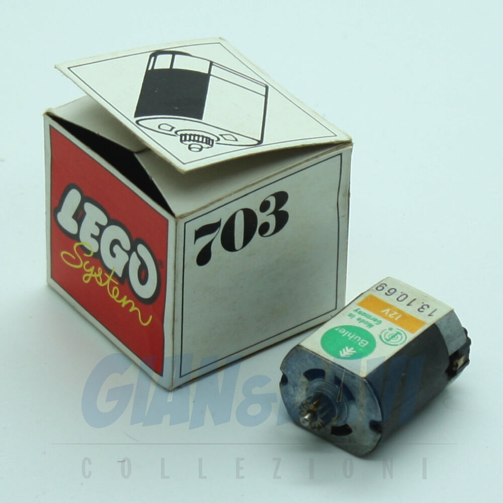 1970 Lego 703 12V Replacement Motor + Box