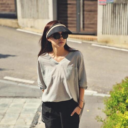 Damen Basecap Sonnenhut Sun Visor Sonnenschutz Kappe Sonnenblende SHADE STR M3Y3